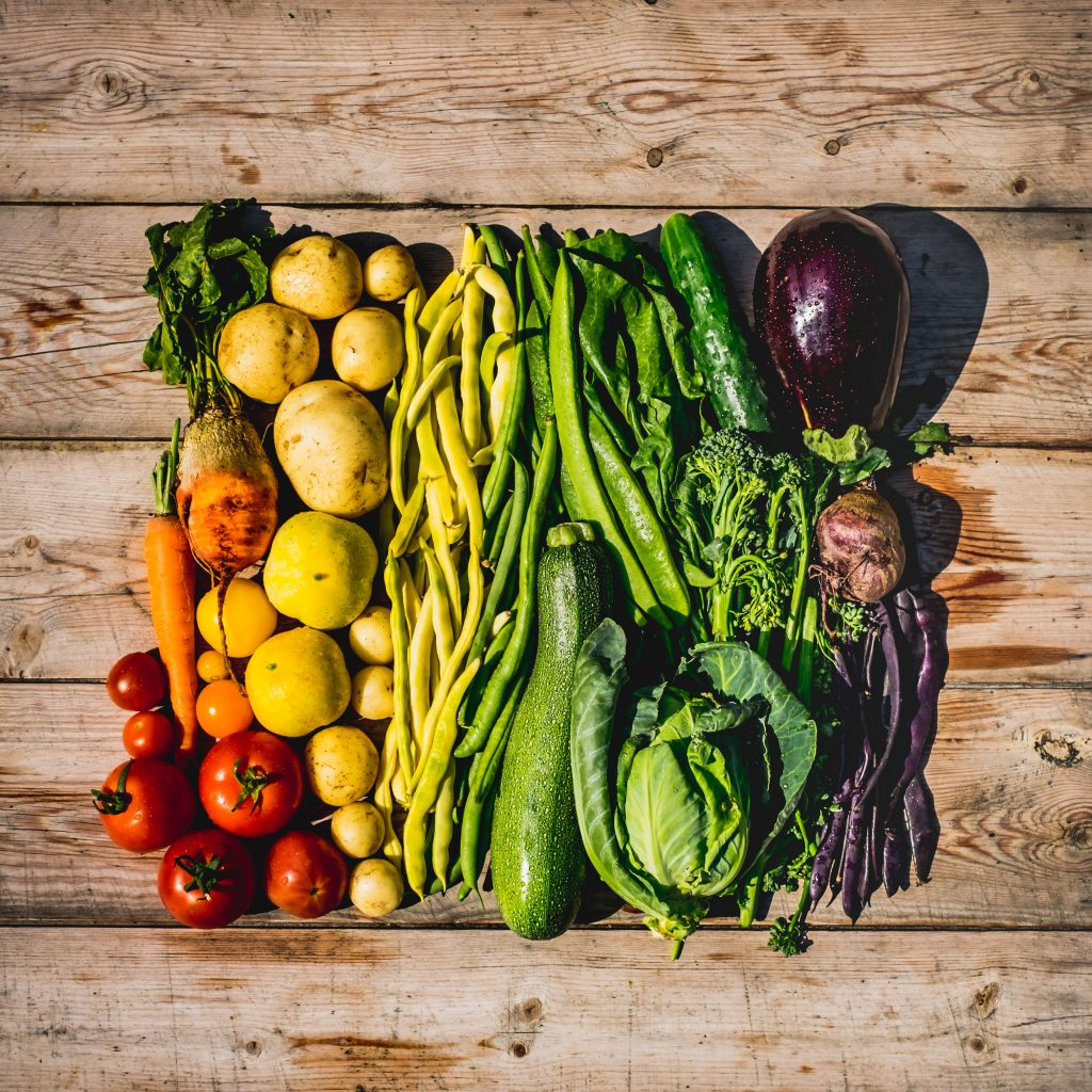 Rainbow vegetables | Food Photography St Albans